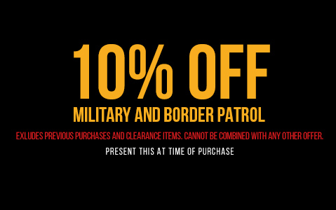 Attractive 10% Off Military And Border Patrol